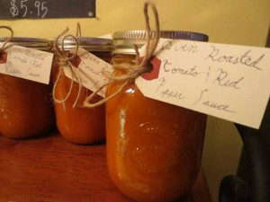 Roasted Tomato Red Pepper Sauce